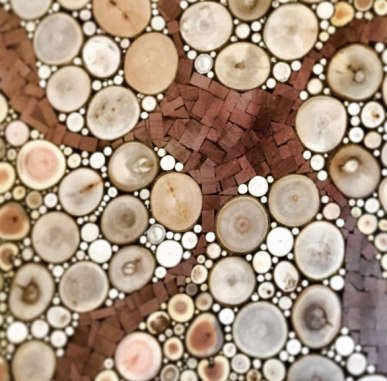 """Study: Wandering Star"" 2017. Mosaic"