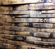 Stave wall panels for food service